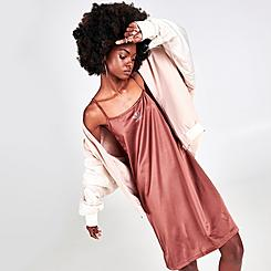 Women's adidas Originals Oversized Satin Shirt Dress