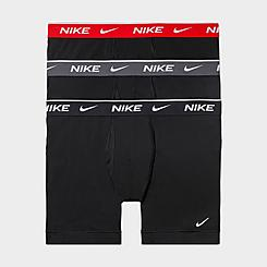 Men's Nike Underwear Everyday Cotton Stretch Boxer Briefs (3 Pack)