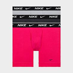 Men's Nike Underwear Everyday Cotton Stretch Boxer Briefs (3-Pack)