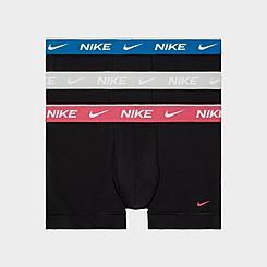 Men's Nike Everyday Cotton Underwear Trunks (3-Pack)