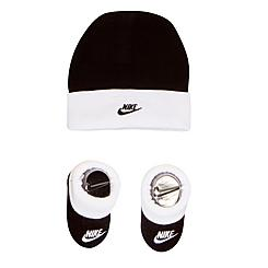 Infant Nike Beanie Hat and Bootie Set