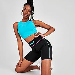 Women's Fila Nala High-Waisted Bike Shorts
