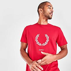 Men's Fred Perry Print Registration T-Shirt