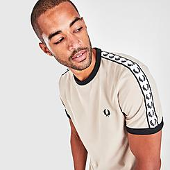 Men's Fred Perry Taped Ringer T-Shirt