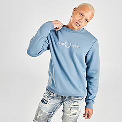 Men's Fred Perry Graphic Crewneck Sweatshirt