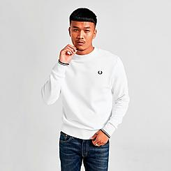 Men's Fred Perry Laurel Wreath Crewneck Sweatshirt