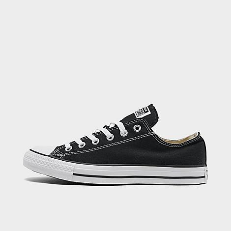 Converse Chuck Taylor All Star Low Top Casual Shoes in Black/Black Size 11.0 Canvas Sizing Information UNISEX SIZING: Unisex shoes are equal to men's shoe sizing Women, select 2 sizes smaller than your typical shoe size Ex. If you wear a women's size 10, you would select an 8 in this sneaker Men and Big Kids, select your typical shoe size Product Features Clean, classic and as All-American as apple pie, the Converse Chuck Taylor Low has something for everyone. Low top silhouette for style Durable canvas upper Classic Chuck Taylor All Star styling Rubber sole The Converse Chuck Taylor Low Top is imported. Tomboys, fashionistas, sneakerheads and everyone in between can take the iconic Chucks look and adapt it to their style. Low-key canvas meets a vulcanized rubber sole, with All Star branding rounding out this easygoing, wear-everywhere sneaker. Better grab a couple pairs. Whether you dress 'em up or dress 'em down, you'll want to wear them every. single. day. Size: 11.0. Color: Black. Gender: male. Age Group: adult. Converse Chuck Taylor All Star Low Top Casual Shoes in Black/Black Size 11.0 Canvas