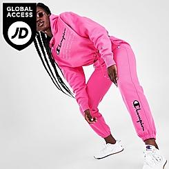 Women's Champion Reverse Weave Boyfriend Script Logo Jogger Pants