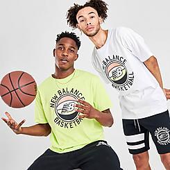 Men's New Balance First Light Basketball T-Shirt