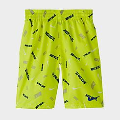 "Boys' Nike Logofetti 8"" Swim Trunks"