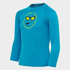 Little Kids' Nike Day Long-Sleeve Hydro Rashguard