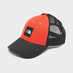 The North Face Box Logo Trucker Snapback Hat