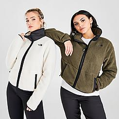 Women's The North Face Dunraven Sherpa Crop Jacket