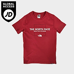 Boys' The North Face Linear Logo T-Shirt