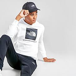 Boys' The North Face Camo Logo Box Pullover Hoodie