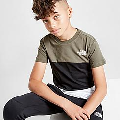 Boys' The North Face Tri-Blend Colorblock T-Shirt