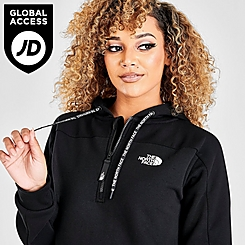 Women's The North Face Tape Quarter-Zip Hoodie