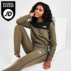Women's The North Face Colorblock Tape Crewneck Sweatshirt