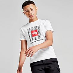 Boys' The North Face Logo Boxed Print T-Shirt
