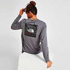 Men's The North Face Mountain Graphic Long-Sleeve T-Shirt