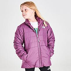Girls' The North Face Mossbud Swirl Reversible Jacket
