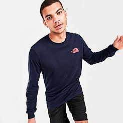 Men's The North Face Parks Long-Sleeve Jersey T-Shirt