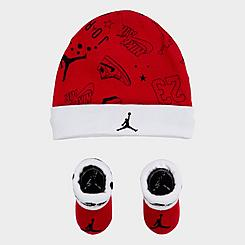 Infant Nike Allstar Scribble Hat and Bootie Set