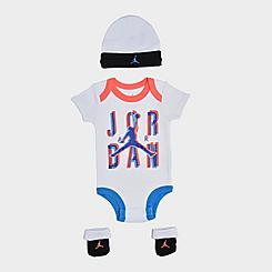 Infant Nike Space Exploration 3-Piece Beanie Hat and Booties Box Set