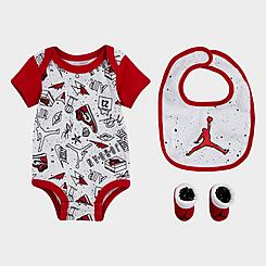Boys' Infant Jordan AOP Fun Flight 3-Piece Box Set