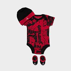 Infant Jordan Allover Print 3-Piece Box Set