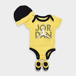 Infant Air Jordan 4 Lightning 3-Piece Set