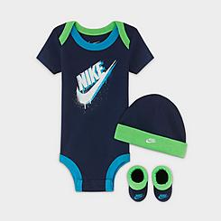 Boys' Infant Nike Futura Hat and Booties Set