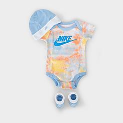 Kids' Infant Nike Futura Tie-Dye 3-Piece Box Set