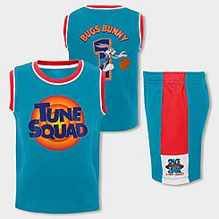 Little Kids' Mitchell & Ness x Space Jam Bugs Bunny Mesh Tank and Shorts Set