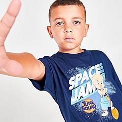 Little Kids' Mitchell & Ness x Space Jam Tune Squad Porky T-Shirt