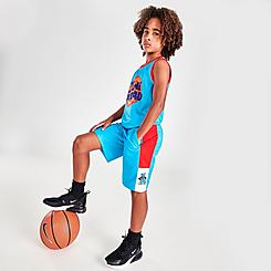 Kids' Majestic x Space Jam Tune Squad Shooter Shorts
