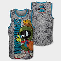 Boys' Mitchell & Ness x Space Jam Marvin The Martian Jersey Tank
