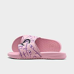 Girls' Little Kids' Champion Warped Super Slide Sandals