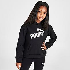 Girls' Puma Logo Pack Pullover Hoodie
