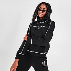 Women's Pink Soda Sport Flash Hoodie