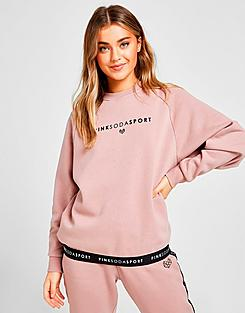 Women's Pink Soda Sport Tape Crewneck Sweatshirt