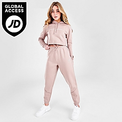 Women's Pink Soda Sport Stitch Crop Jogger Pants