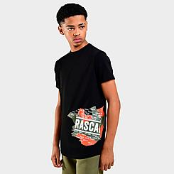 Boys' Rascal Camo Pop Side Print T-Shirt