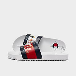 Big Kids' Tommy Hilfiger x Space Jam Looney Tunes™ Cast Slide Sandals