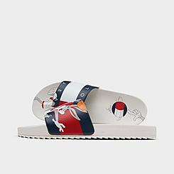 Little Kids' Tommy Hilfiger x Space Jam Bugs Bunny™ B-Ball Slide Sandals