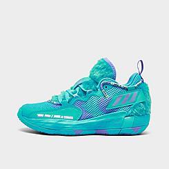 Big Kids' adidas x Monsters, Inc. Dame 7 EXTPLY Basketball Shoes