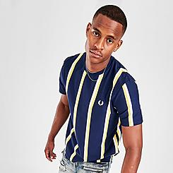 Men's Fred Perry Vertical Striped T-Shirt