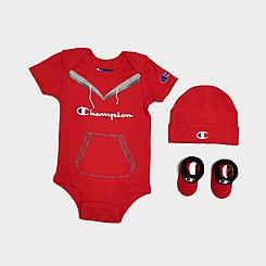 Infant Champion Script Logo 3-Piece Set