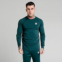Men's SikSilk Tape Performance Long-Sleeve T-Shirt