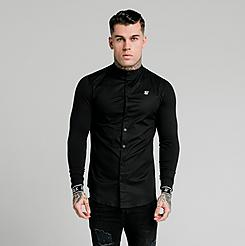 Men's SikSilk Tech Cuff Long-Sleeve T-Shirt